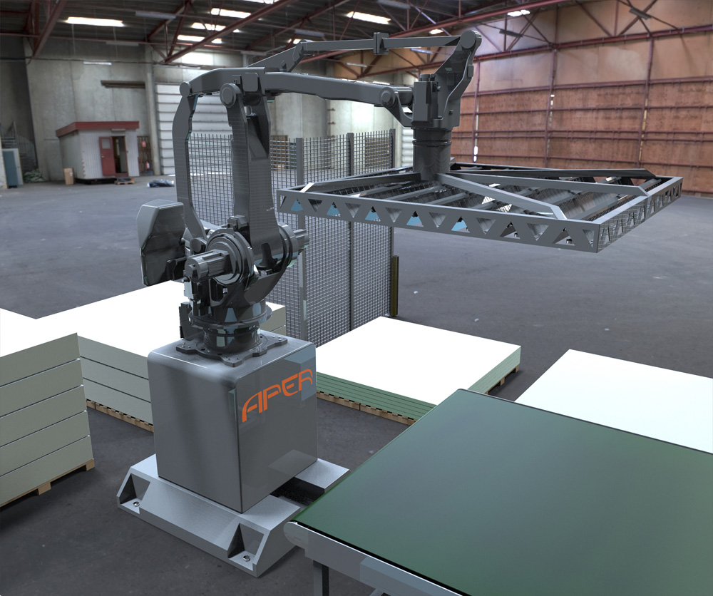 AX-Spraying Robot Aper