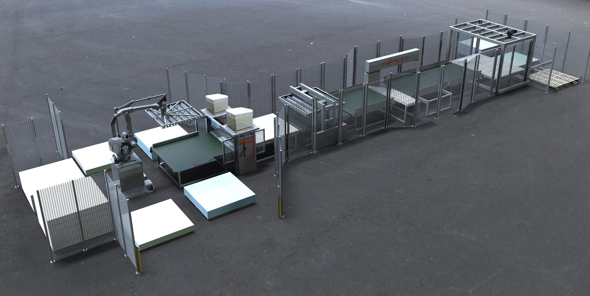 Aper production lines